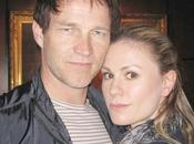 Stephen Moyer Anna Paquin Attend Lakers Casino Night