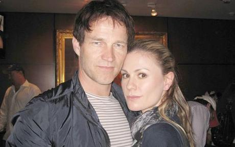 Stephen Moyer and Anna Paquin attend LA Lakers Casino Night