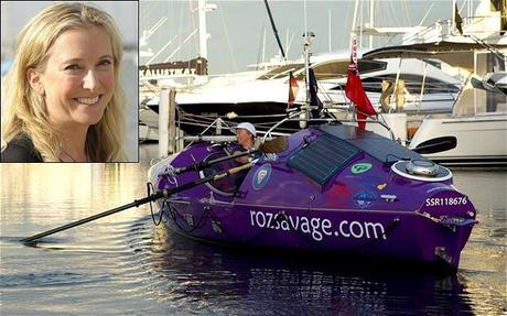 Ocean Rowing: Roz Is Off, Won't Be Alone On The Indian Ocean