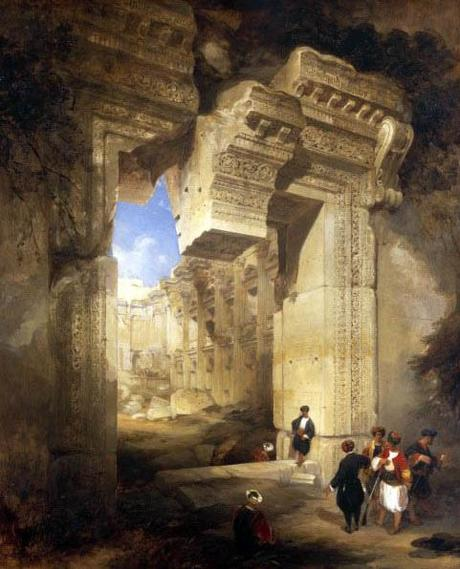 The Gateway to the Great Temple at Baalbec