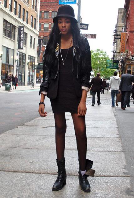 Summer Fashion: Dresses & Combat Boots - Paperblog