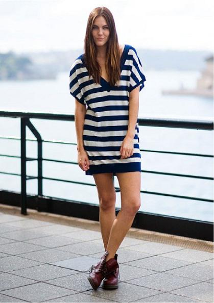 Summer Fashion: Dresses & Combat Boots - Paperblog