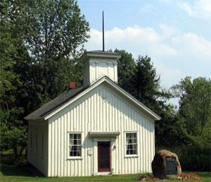 On Susan B. Anthony's trail -- Ohio's South Newbury Union Chapel