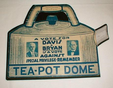 Guest Blogger: Jewell Fenzi on the notorious Tea Pot Dome scandal.