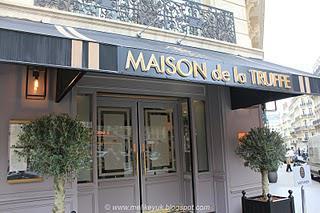 A visit to La Maison de la Truffe, Rue Marbeuf, Paris