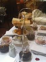 Afternoon Tea at The Rose Lounge, Sofitel London St. James