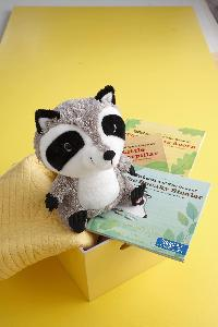 Watson the Raccoon Interactive Storybook Buddy