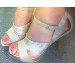 The perfect spring platform sandals