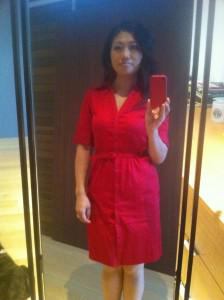 Quest for the perfect red dress