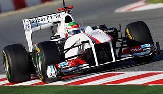 Sauber Fastest - Pre-Season Testing in Barcelona, Day Three