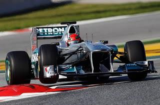 Schumacher Fastest - Pre-Season Testing in Barcelona, Day Four