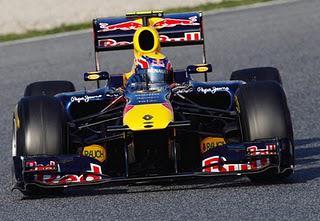 Webber Fastest - Pre-Season Testing in Barcelona, Day One