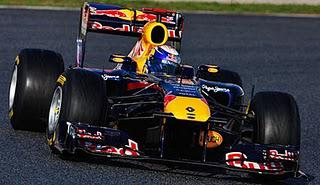 Vettel Fastest - Pre-Season Testing in Barcelona, Day Two