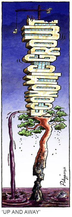 Cartoon guide to biodiversity loss XI