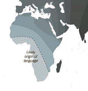 Phonetic Clues Hint Language Is Africa-Born
