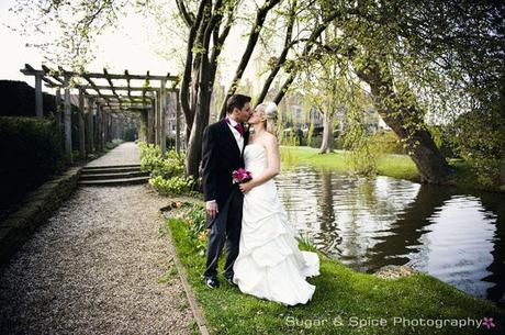 Real wedding at Great Fosters luxury hotel