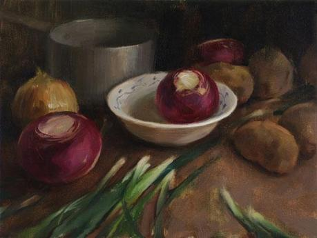 Still Life with Turnips