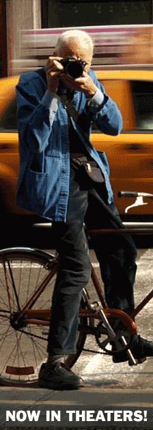 Events: Bill Cunningham and a Bike Ride