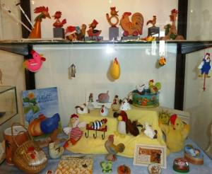 Osterei display
