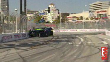 Video of Stephen Moyer's Car Flip