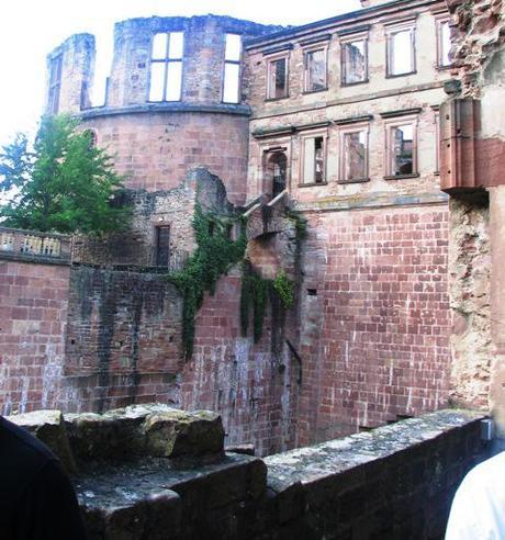 Heidelberg castle fire damage
