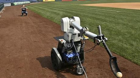 When Robots Take Over the World/Baseball Field