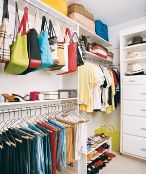 Closet Organization for the Working Girl