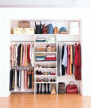 Wonderful Closet Organization For The Working Girl