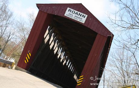 Indiana Covered Bridge: Roann, Indiana