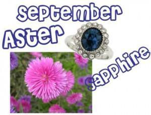 sept 300x229Flowers and Birthstones Galore