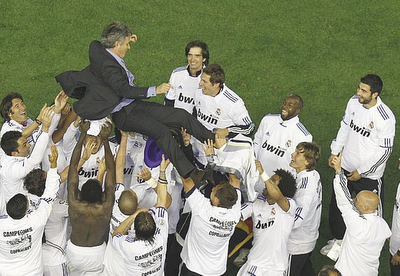 Best Images of Real Madrid's Copa Del Rey Win Over Barcelona