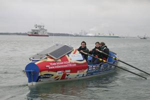 Ocean Rowing: The Indian Runner Is Off!