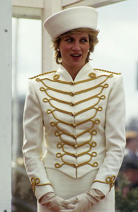 Princess Diana Fashion Icon Paperblog