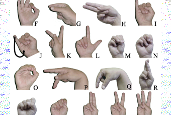thesis sign language
