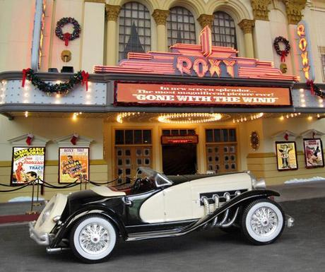 Duesenberg SSJ at the Roxy Theatre