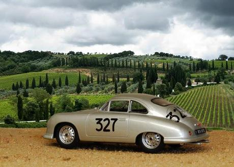 Silver Germans at the Mille Miglia