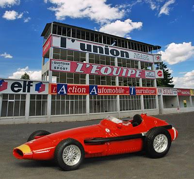 Classic GP cars at Reims