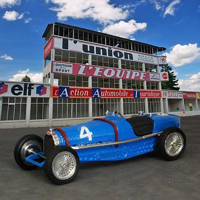 Classic GP cars at Reims