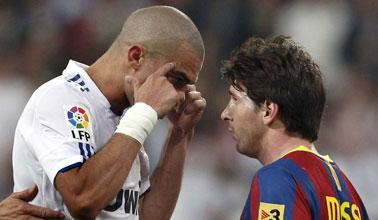 Pepe and Messi