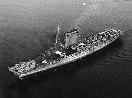 USS Lexington CV-2 October 1941