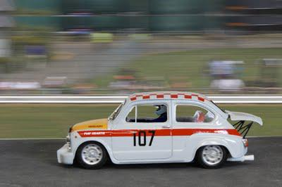 Fiat Abarth 1000 in action
