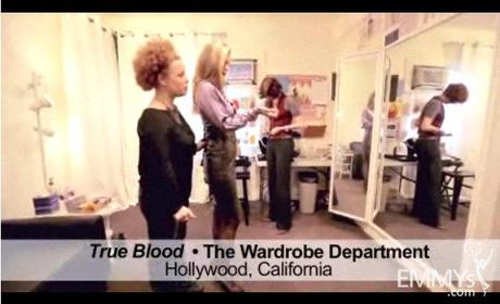 Video: Audrey Fisher Outfits 'True Blood' Vampire Kristin Bauer