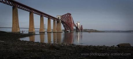 Forth rail bridge, near Edinburgh