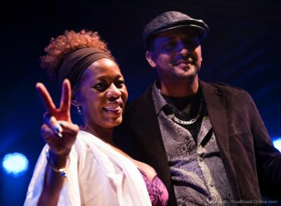 Alfre Woodward appears at Trumpets Not Guns benefit concert