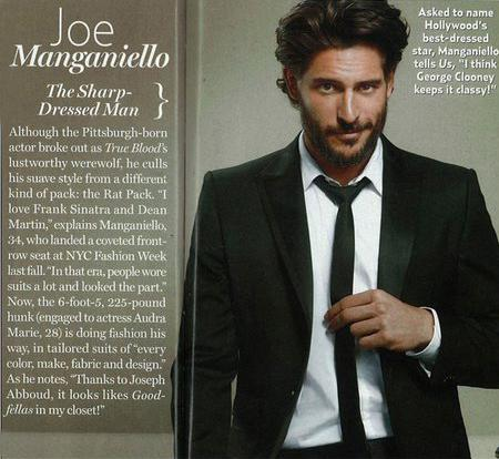Joe Manganiello: makes Men's Fitness World's 25 Fittest Guys & more