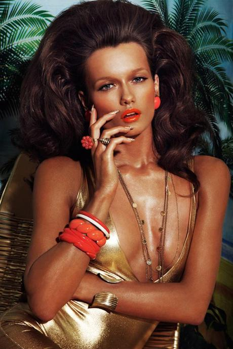 Jamie Nelson for Vogue Russia 2 Hot Makeup: Vogue Russia