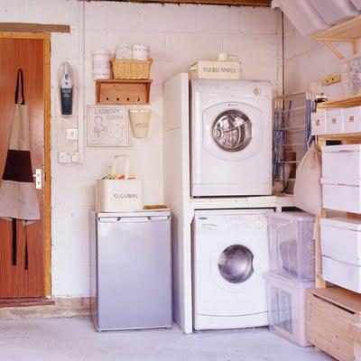 April's Monthly Storage Plan: The Laundry Room