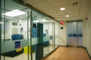 Chemo infudion room at Dubin Center