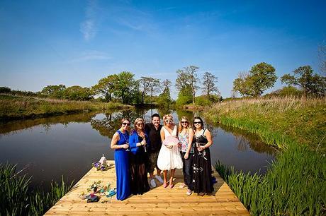 Behind the scenes wedding blog photo shoot Styal Lodge Jonny Draper (10)