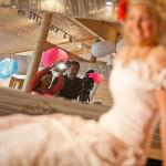 Behind the scenes vintage wedding shoot Styal Lodge 05